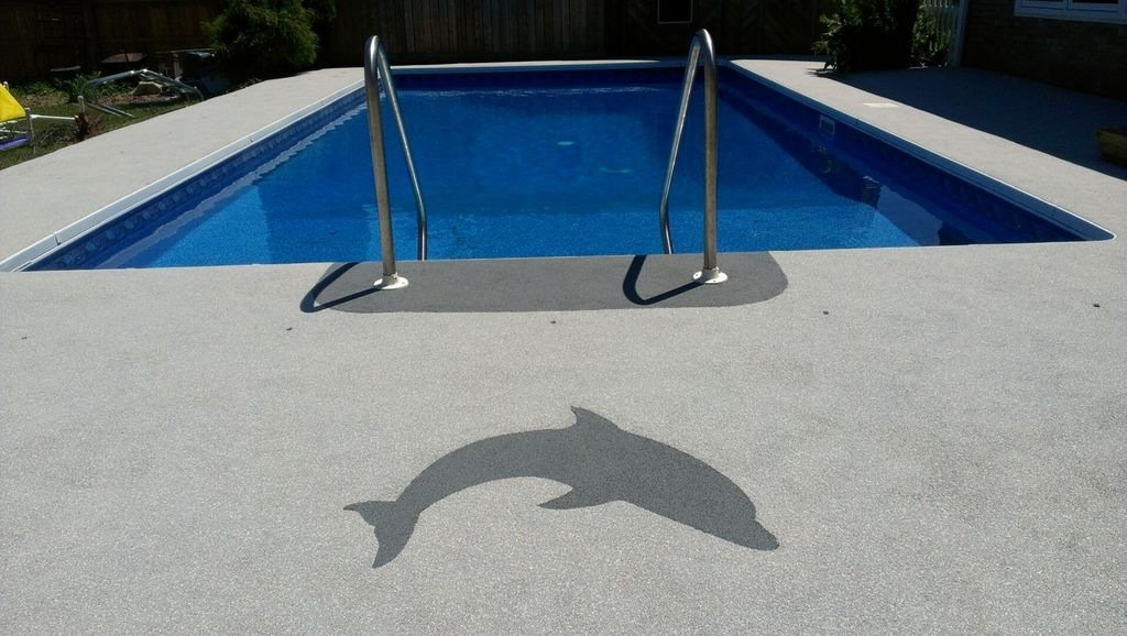 Pool Deck Rubber Surfacing